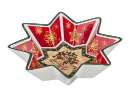 "САЛАТНИК ""CHRISTMAS COLLECTION"" ДИАМЕТР=17 СМ."
